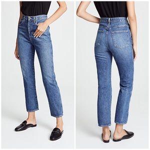 AGOLDE High Rise Pinch Waist Jeans 28x 28.5